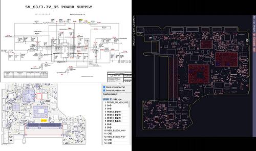 PowerBook G4 A1046 820-1441 Schema Boardview