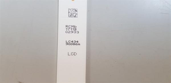 LG 43UK6300 Led Retroilluminazione