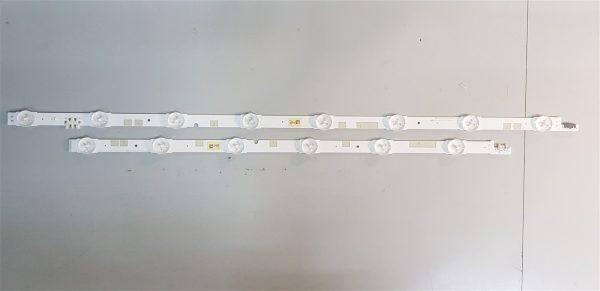 Samsung UE55JU6800 Led Retroilluminazione
