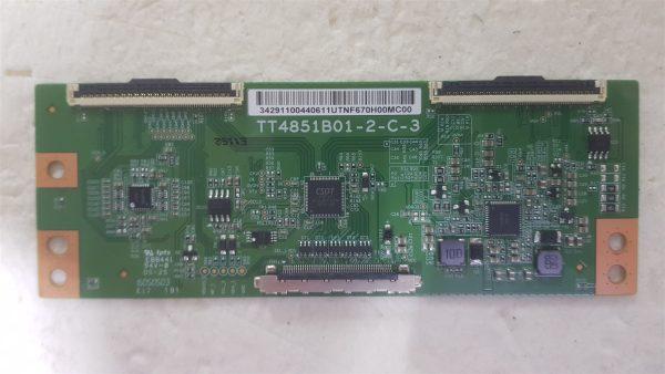 United LED49HS27 TT4851B01-2-C-3 T-Con