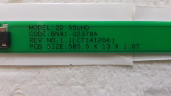Samsung UE55MU6120 BN41-02378A