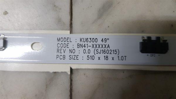 Samsung UE49MU6120 KU6300 BN41-XXXXXA