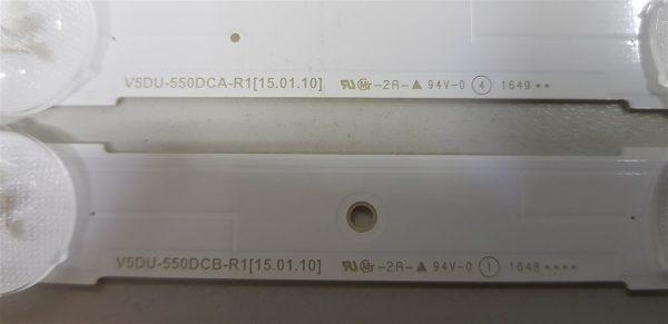 UE55K6050 V5DU-550DCA-R1 V5DU-550DCB-R1