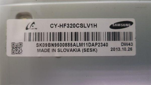 Samsung UE32F6400 CY-HF320CSLV1H Display