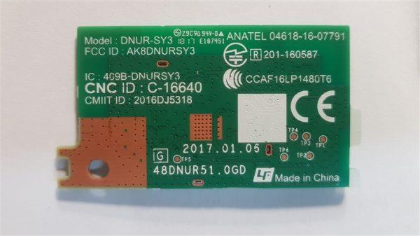 Sony KD-55XF7096 MODULO WI-FI